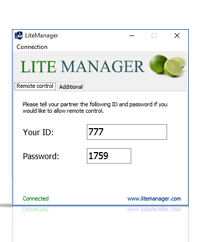 Litemanager Free — ��������� ���������� �����������